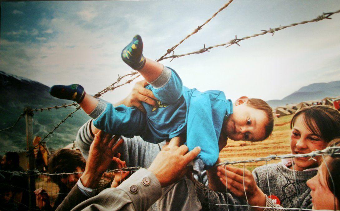 Ganadora del premio Pulitzer en el año 2000. En ella se reflejan la difícil situación que vivieron los refugiados de Kosovo. De los 2 millones de habitante que había en Kosovo antes de la guerra 800.000 tuvieron que huir y refujiarse en países vecinos como Albania
