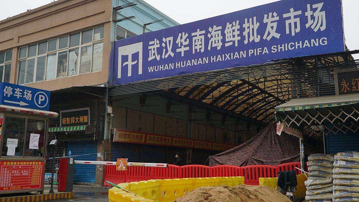 Mercado mayorista de mariscos de Huanan