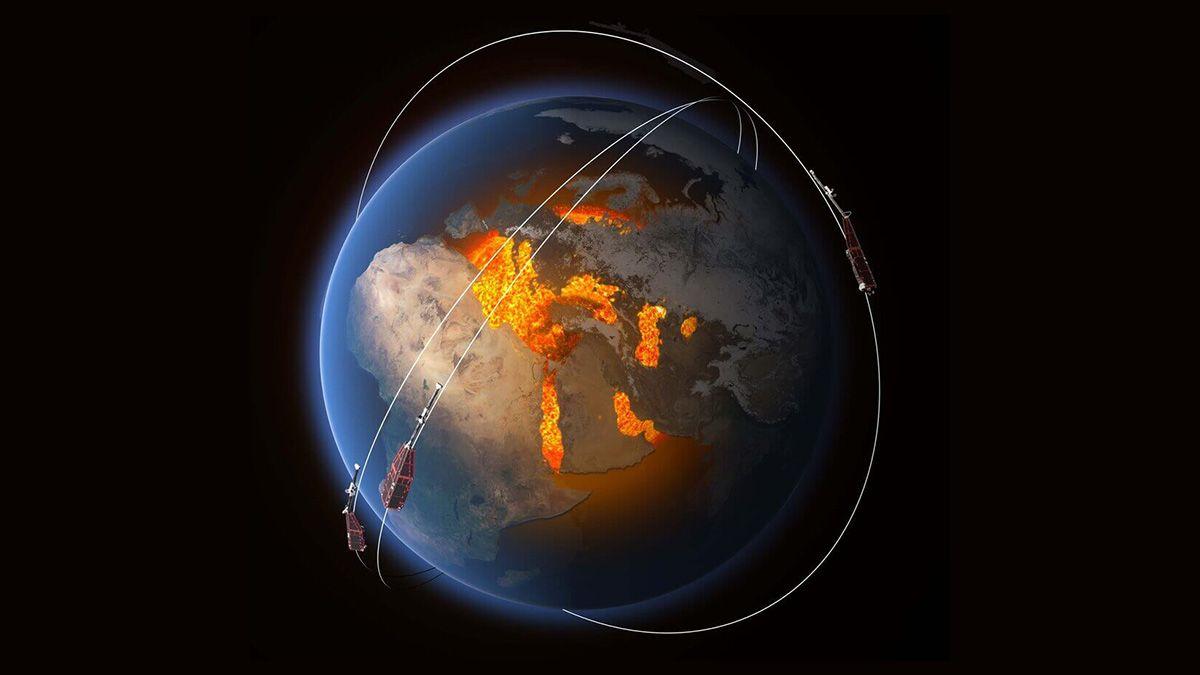 El campo magnético de la Tierra se está debilitando