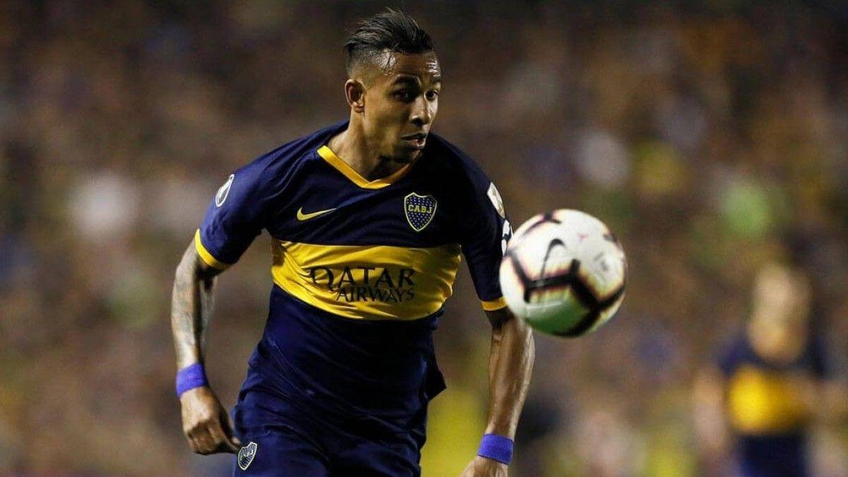 El delantero de Boca prestó declaración a través de videoconferencia.