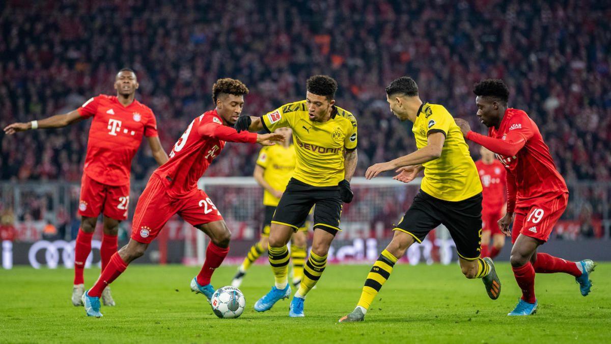 En el último clásico entre el Bayern Múnich y el Borussia Dortmund