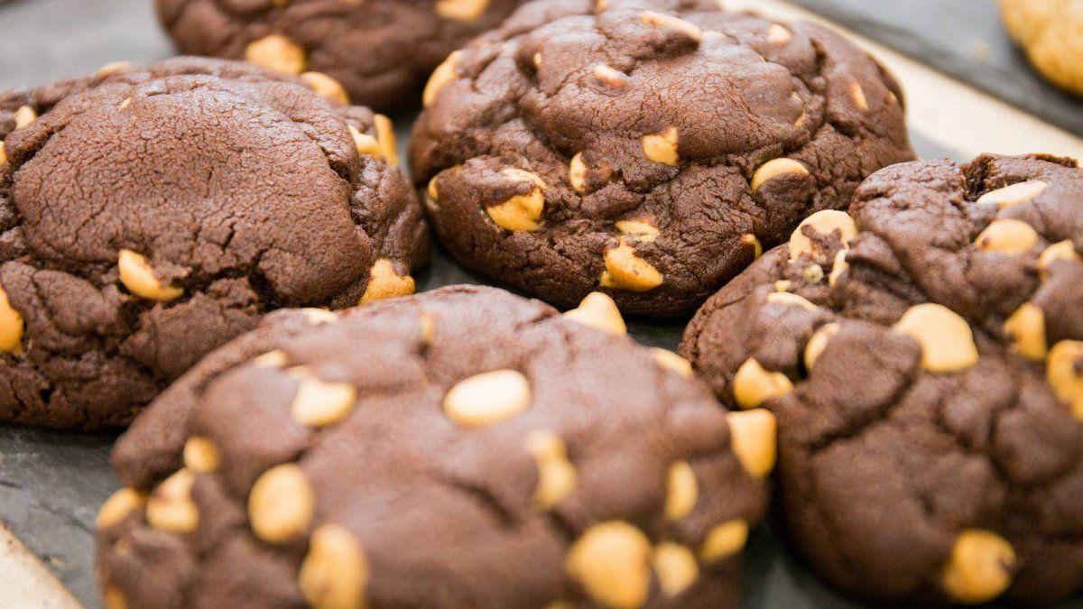 Cookies de chocolate con almendras.