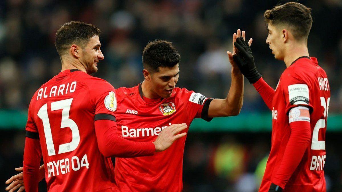 El Leverkusen de Alario y Palacio recibe al Colonia en la Bundesliga