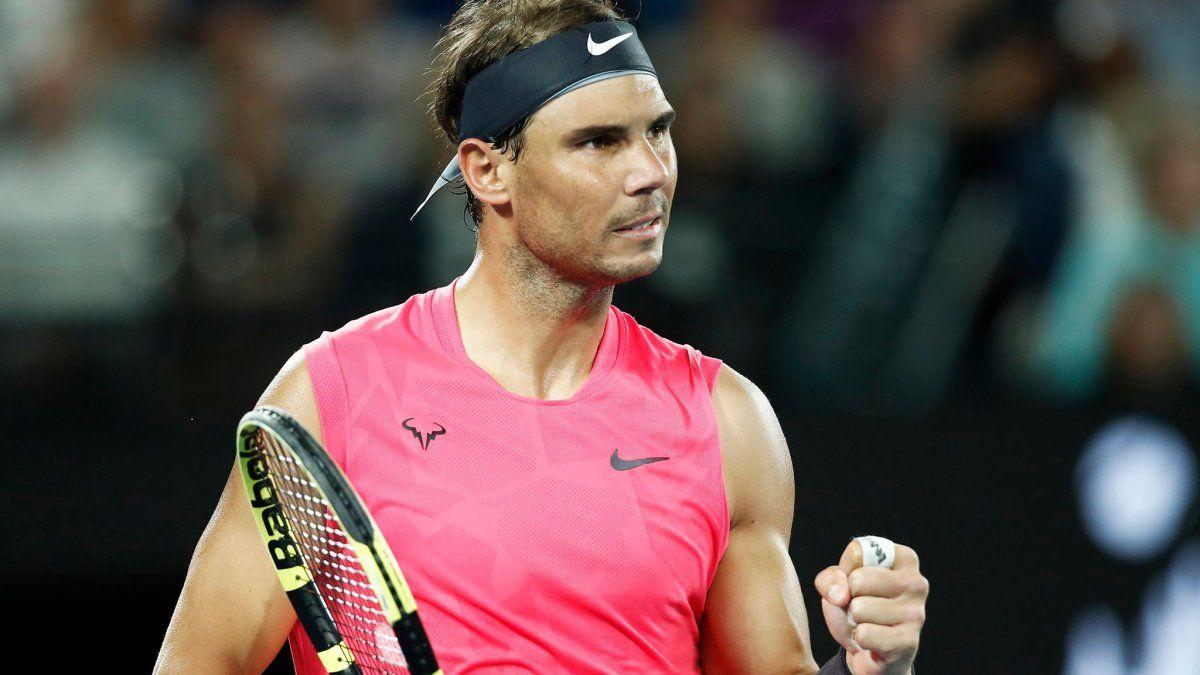 El tenista de Mallorca no acepta la nueva normalidad de la que se habla porque se considera una persona a la que le gusta abrazar y saludar a la gente.