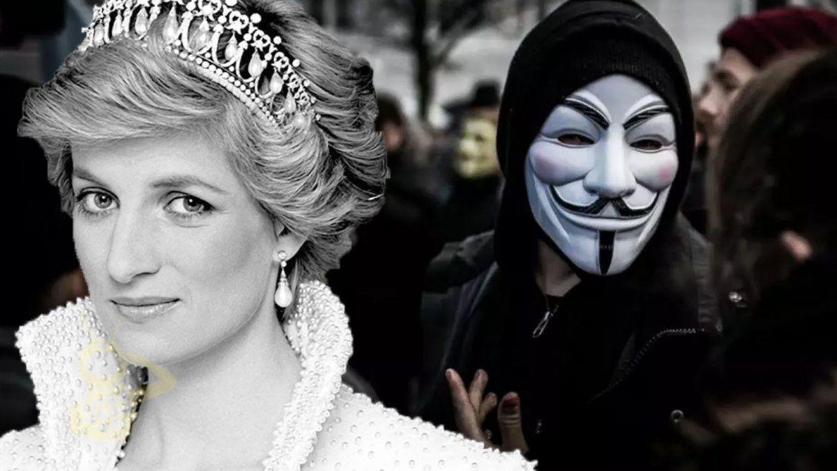 Anonymous reveló pruebas de que la familia real británica mandó ...