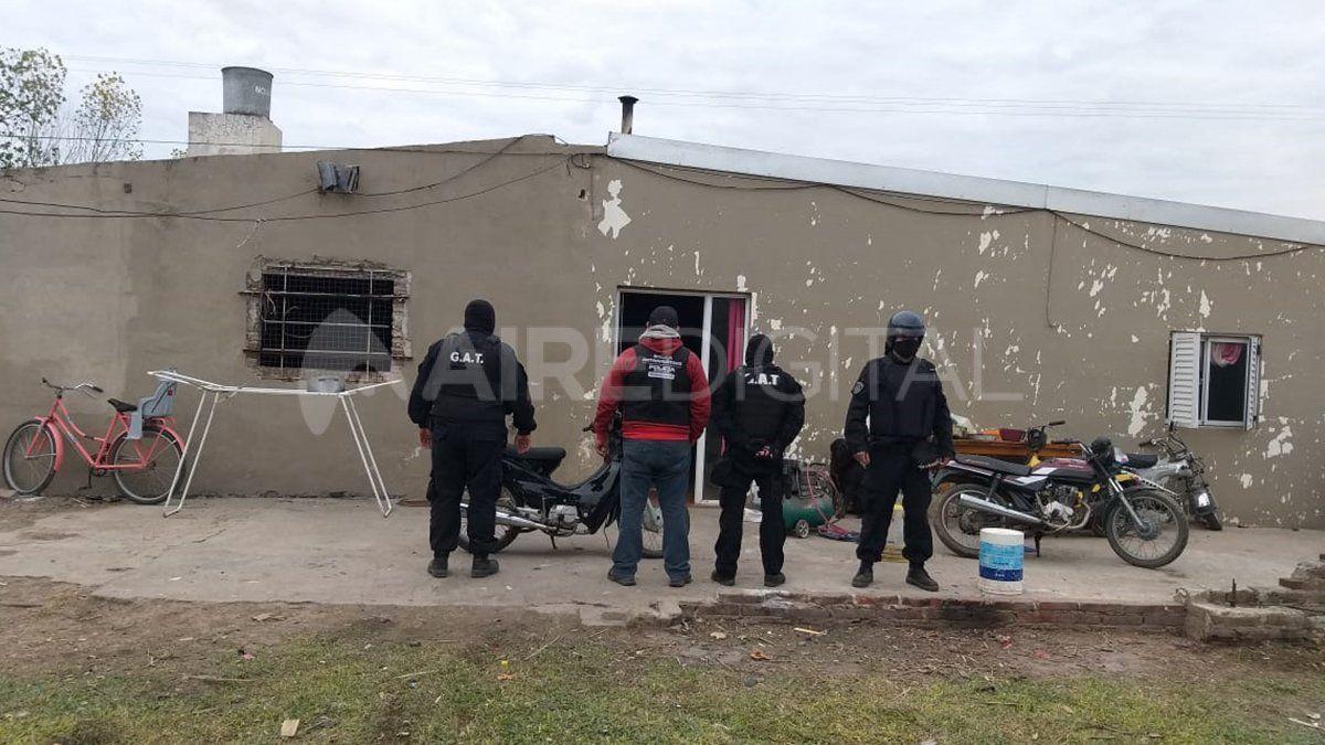 Barrio Facundo Quiroga. La zona donde fueron detenidos los principales investigados.
