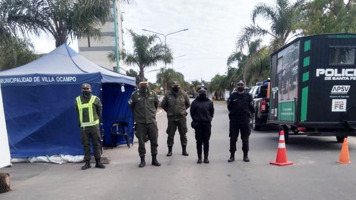 No entra ni sale nadie. La ciudad de Villa Ocampo regresó a la fase 1 de la cuarentena.