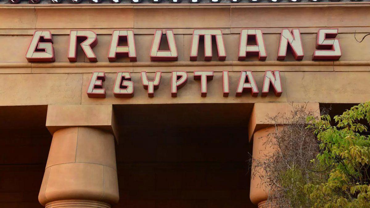 Teatro Egipcio de Hollywood