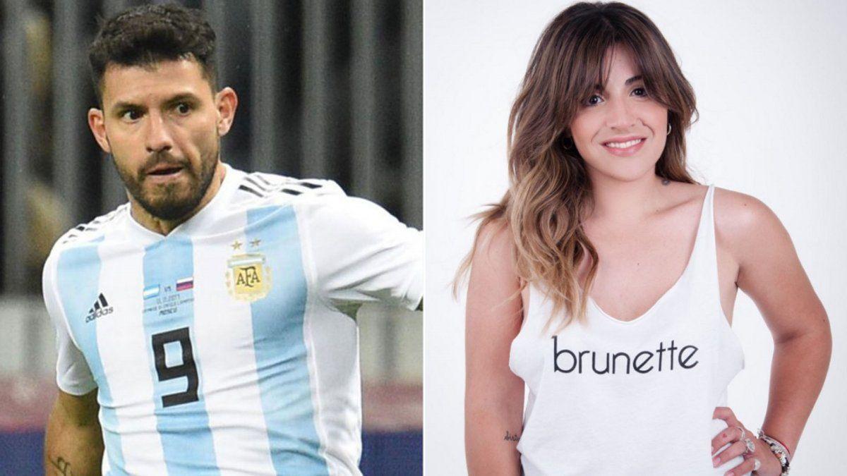 La furia de Gianinna Maradona con el Kun Agüero