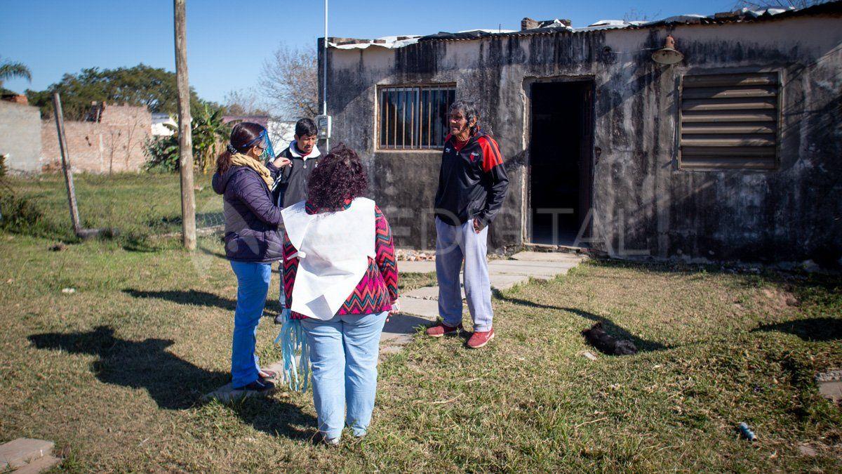 Detectar: solo hisoparon a un vecino de la costa santafesina por sospecha de coronavirus