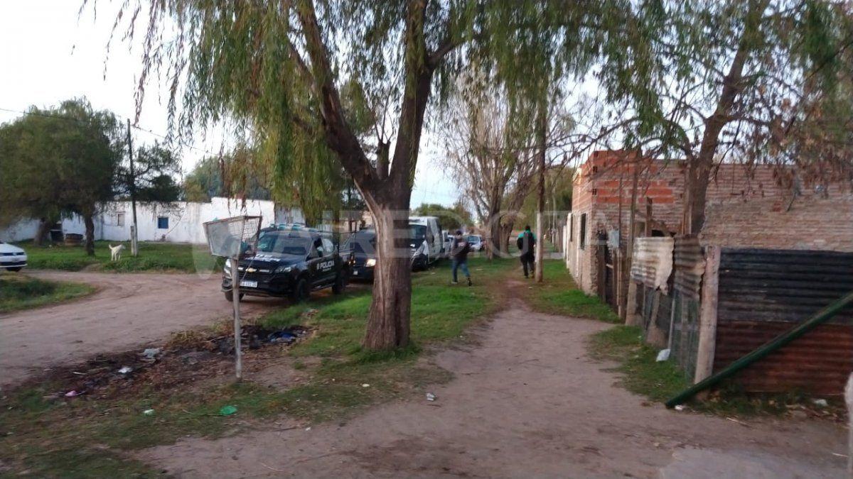 Allanamientos en Villa Adelina Centro