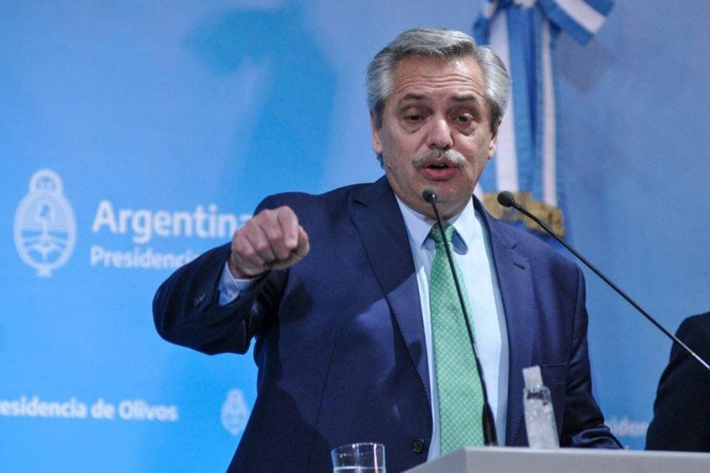 Alberto Fernández anunciará la extensión de la cuarentena.