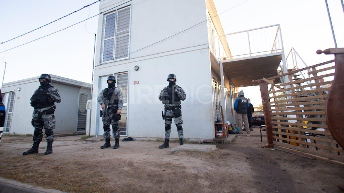 Desalojaron una vivienda en barrio Jesuitas.