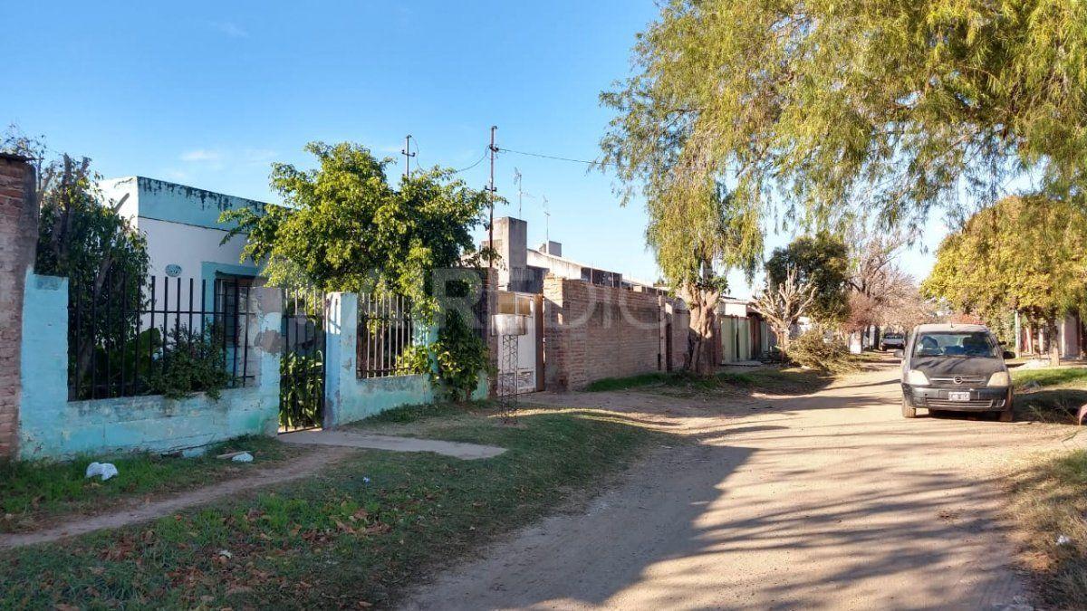 Barrio Iriondo - zona donde está ubicada la casa de la joven víctima