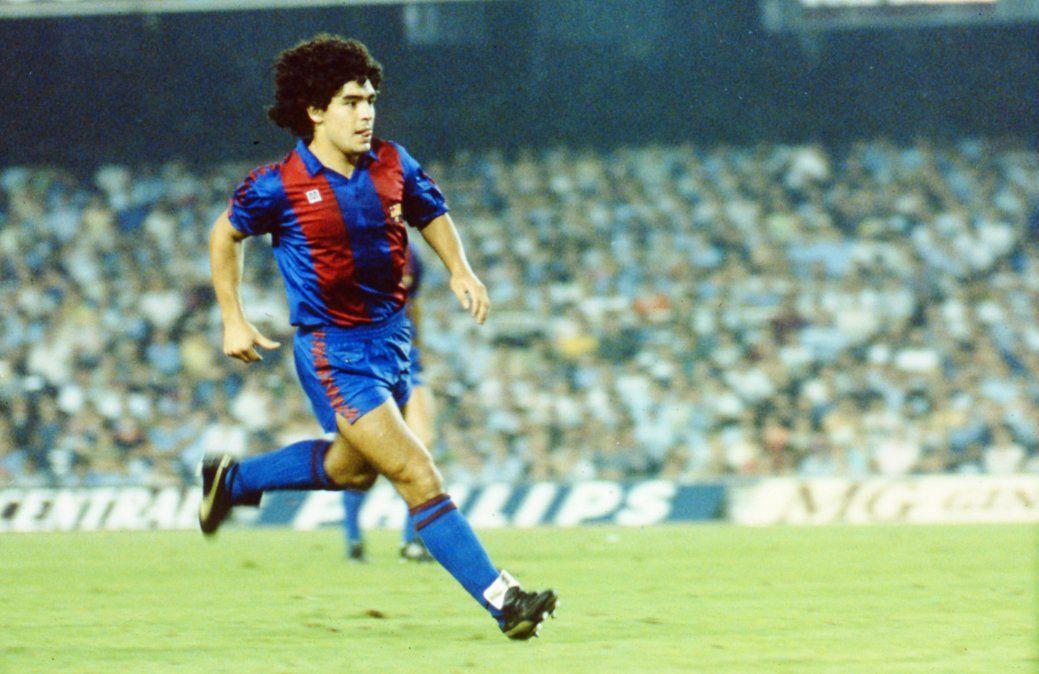 A 38 años del arribo de Diego Maradona a Barcelona