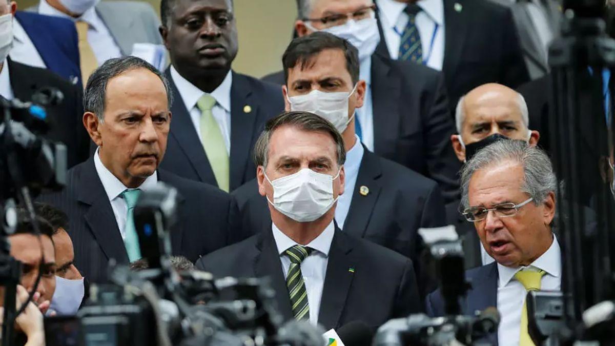 El presidente de Brasil
