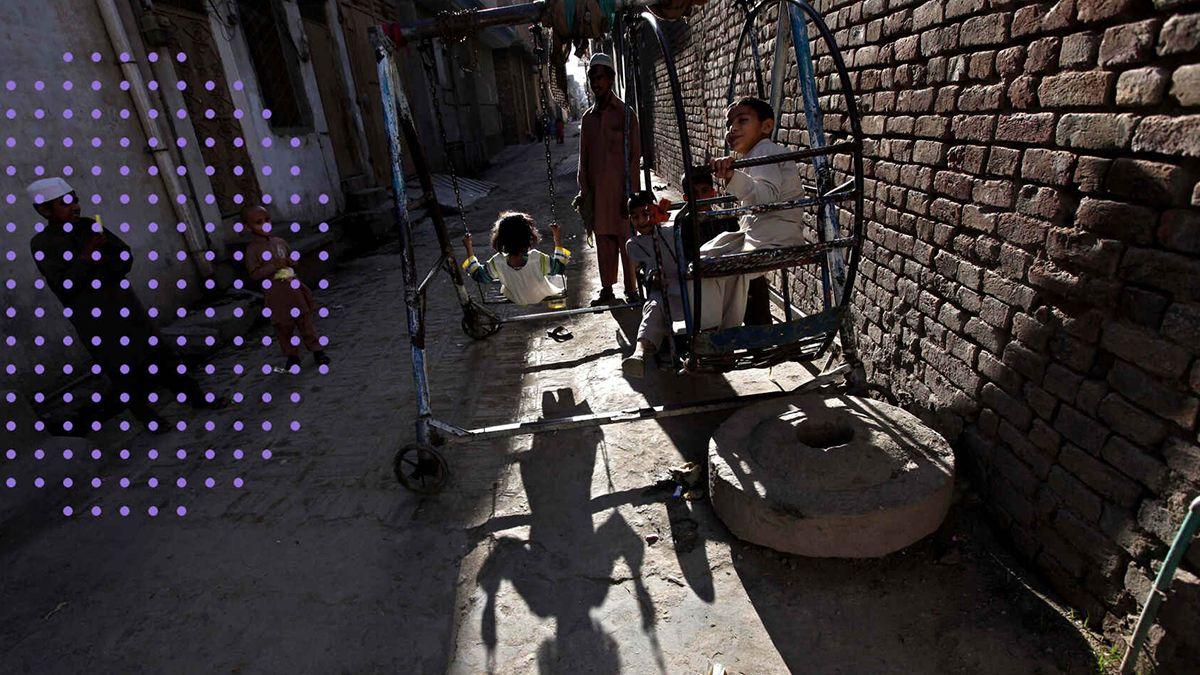 Día Internacional del Niño en Pakistán.EFE