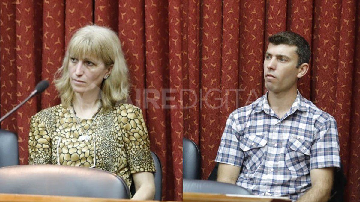 Abusadores. Nidia Morandini y Juan Pablo Baraldo
