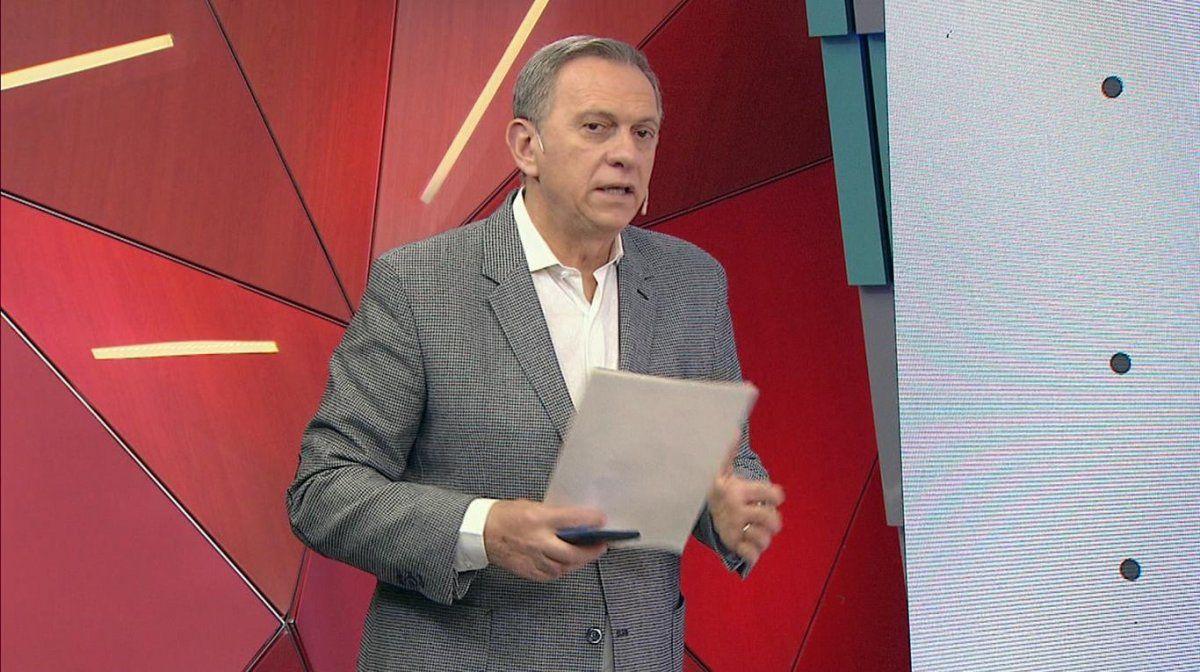 Marcelo Bonelli en la pantalla de TN