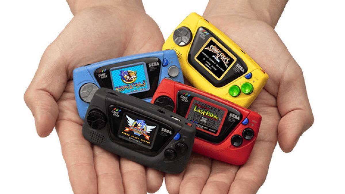 La arriesgada jugada de Sega: lanzará la Game Gear Micro, con un tamaño que dificultará su funcionamiento
