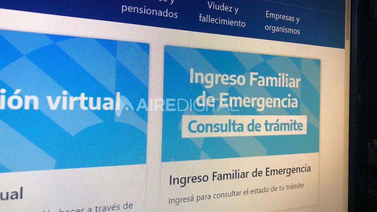 Comienzan a abonar la segunda parte del Ingreso Familiar de Emergencia (IFE).