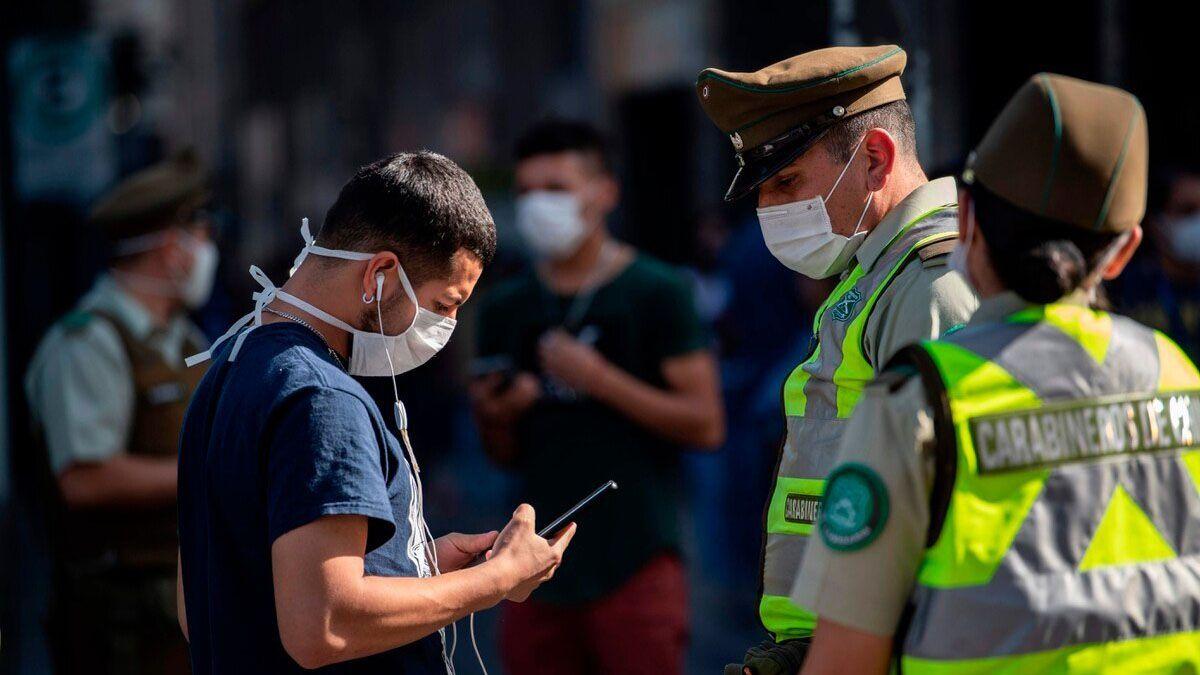 Chilese sigue manteniendo en el tercer lugar latinoamericano como el país con más casos decoronavirus.