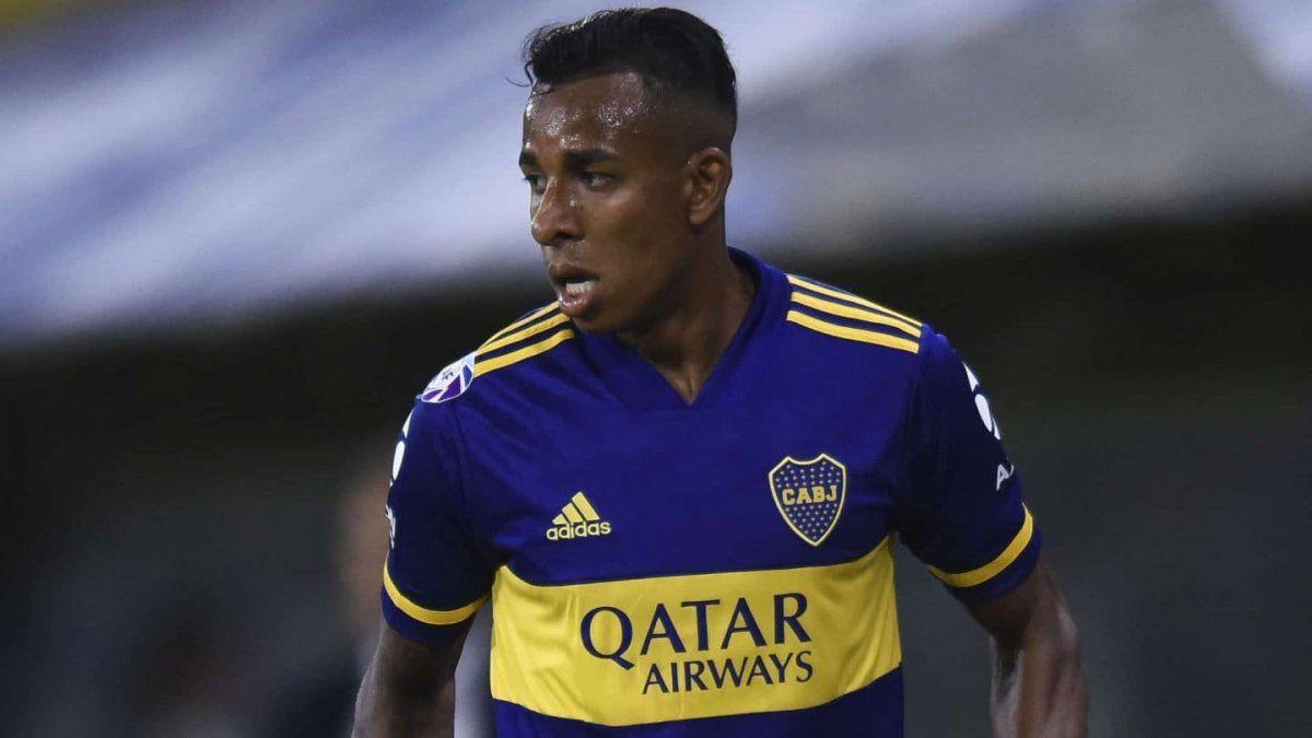 El delantero colombiano de Boca fue denunciado por su ex pareja