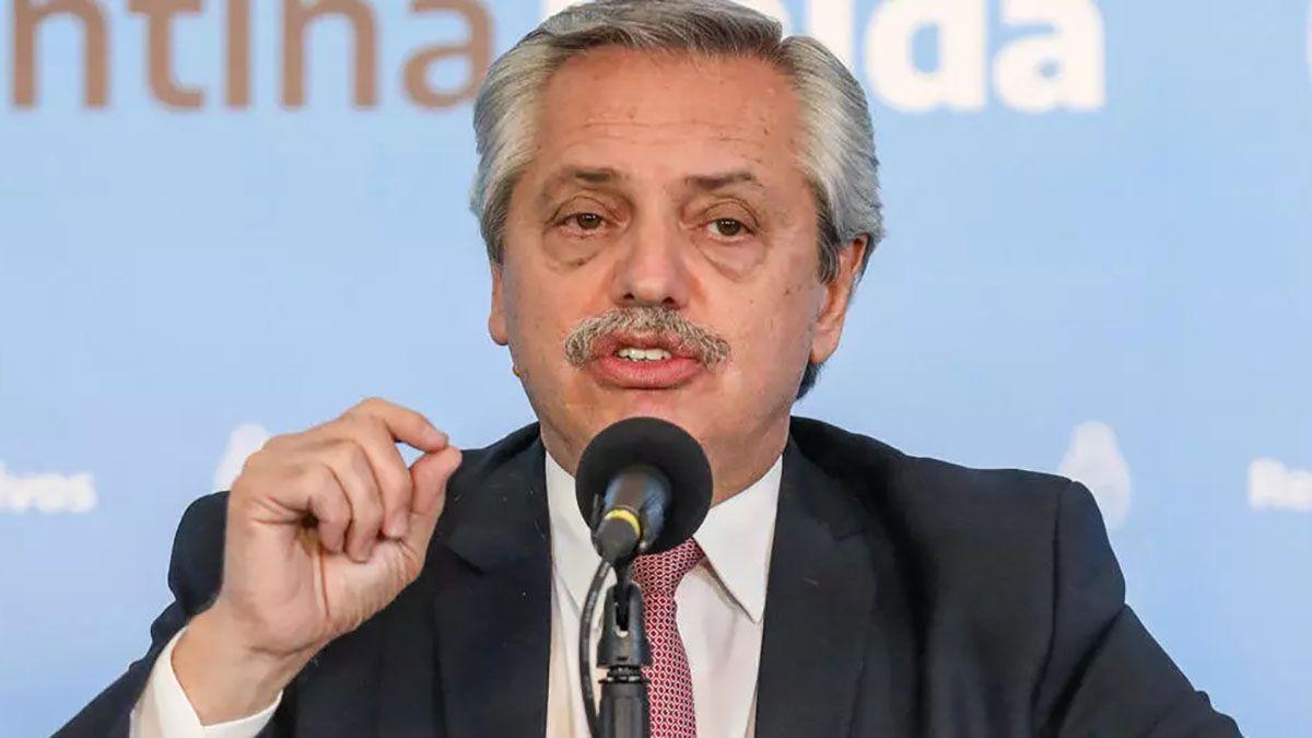 El presidente de la Nación