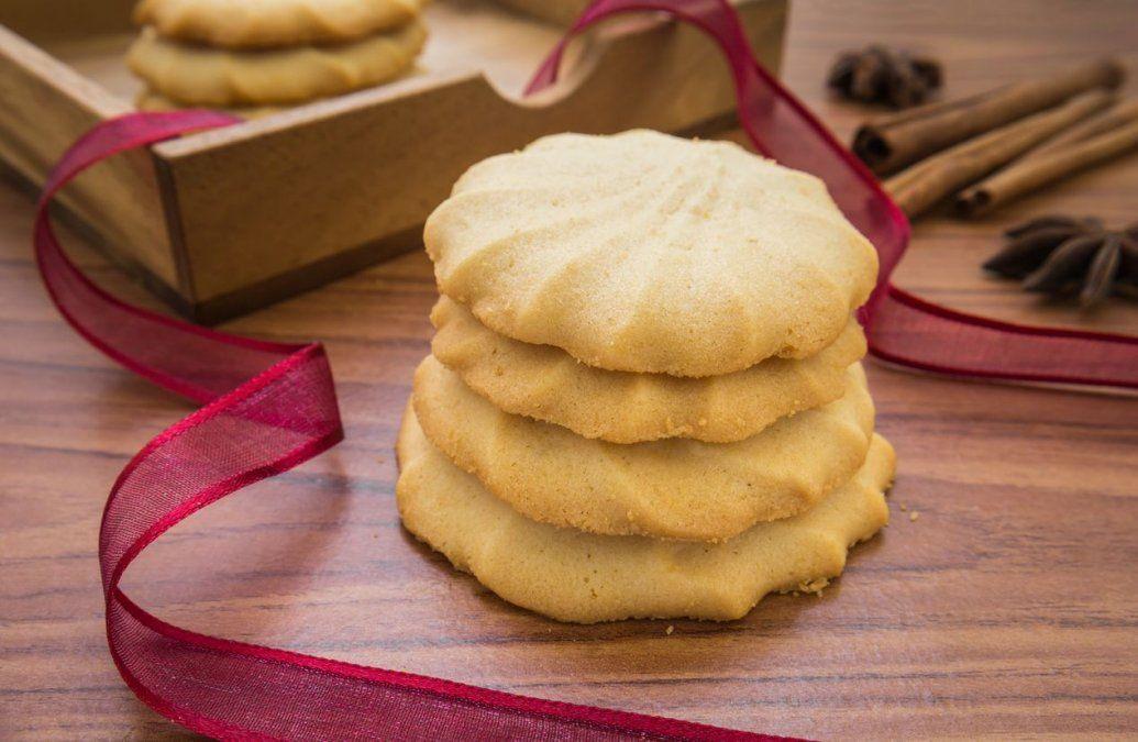 Cookies de manteca.