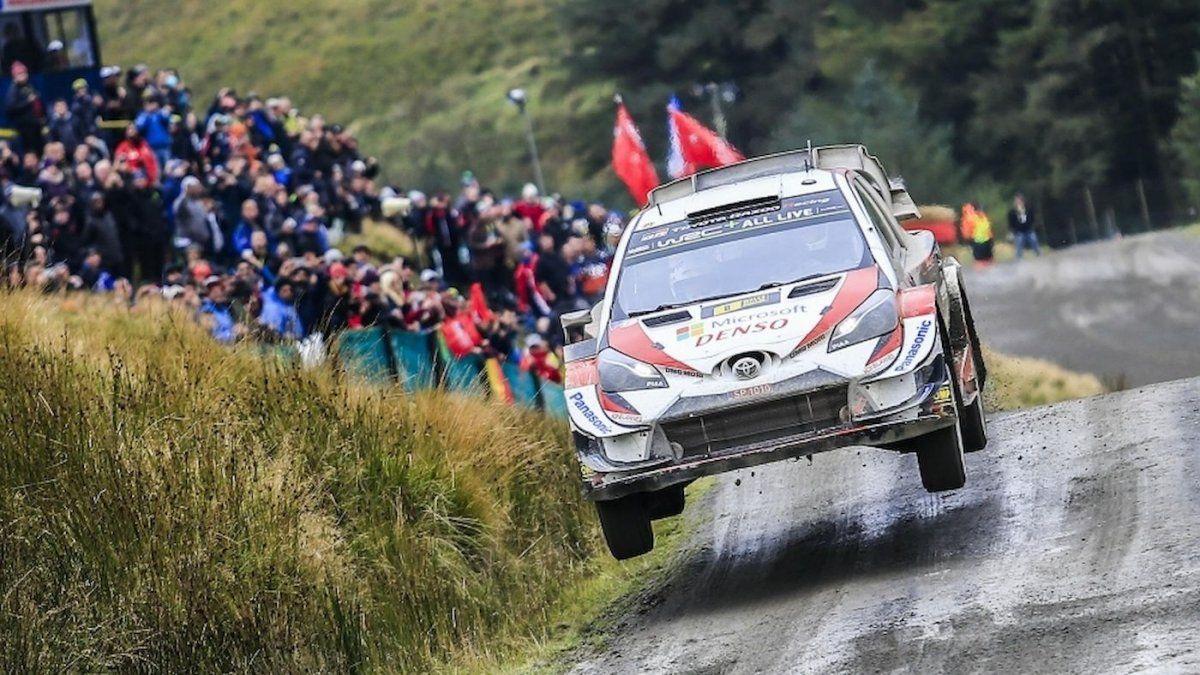 El Rally de Gran Bretaña no se correrá.