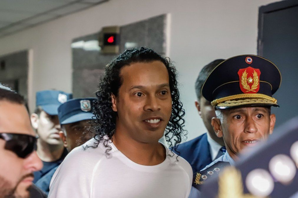El astro brasileño ingresó a Paraguay con documentos falsos el 4 de marzo y está detenido desde aquel entonces en el país guaraní.