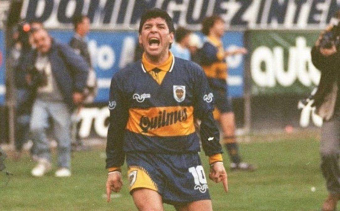 La última pincelada de Maradona: a 24 años de su último gol de jugada