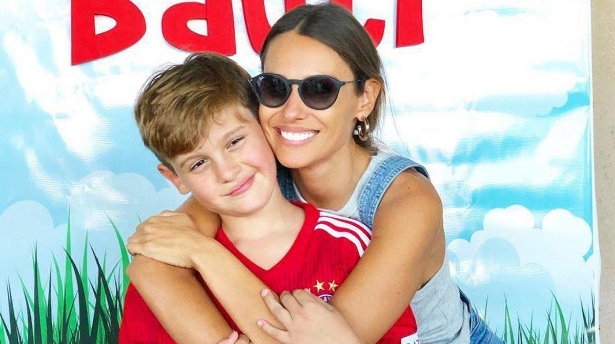 Bautista es el segundo hijo de Carolina Ardohain y el galán chileno.