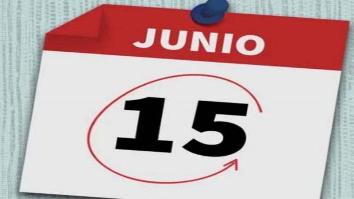 Por qué es feriado el lunes 15 de junio