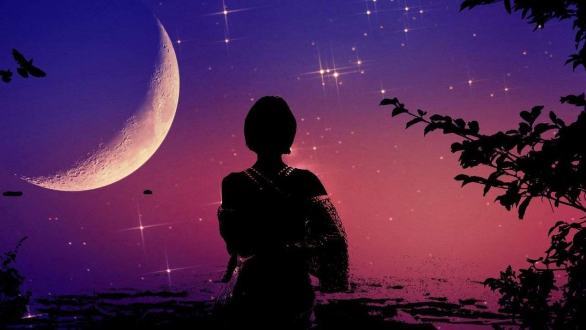 Luna en Piscis (Imagen ilustrativa)