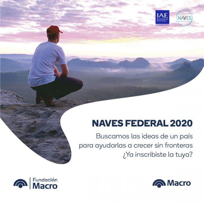 Banco Macro lanzó por sexto año consecutivo la competencia NAVES