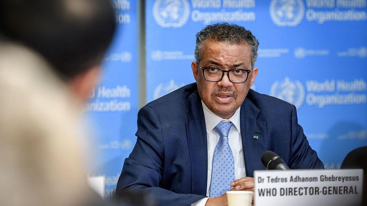 El director general de laOrganización Mundial de la Salud (OMS)