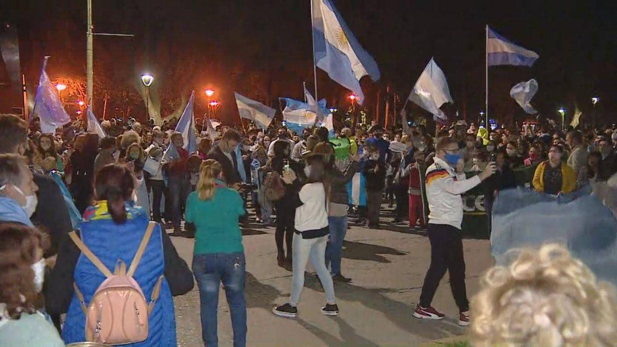 Este miércoles volvió a realizarse un cacerolazo en distintos puntos del país para reclamar por la intervención de la empresa santafesina Vicentín.