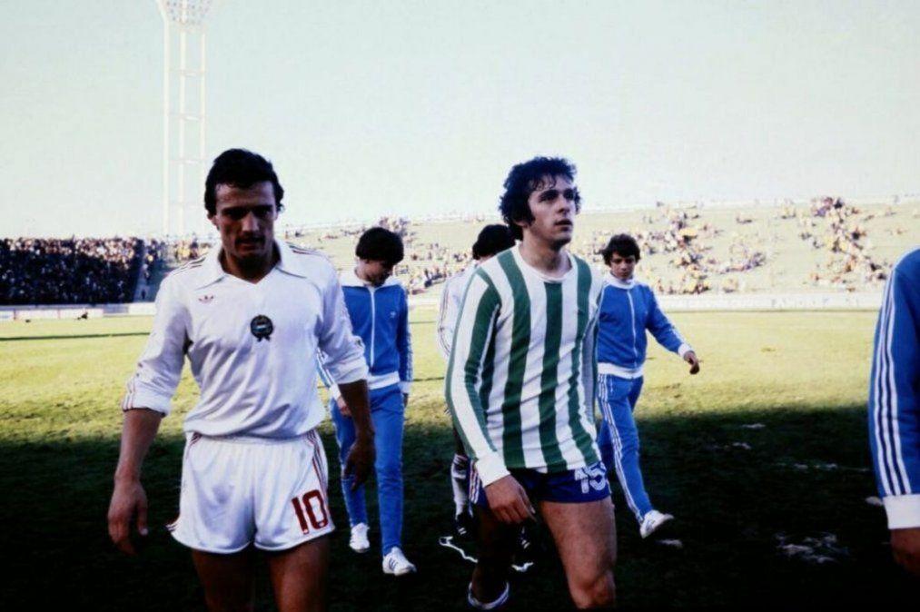El día que Michel Platini jugó con la camiseta de Kimberley de Mar del Plata