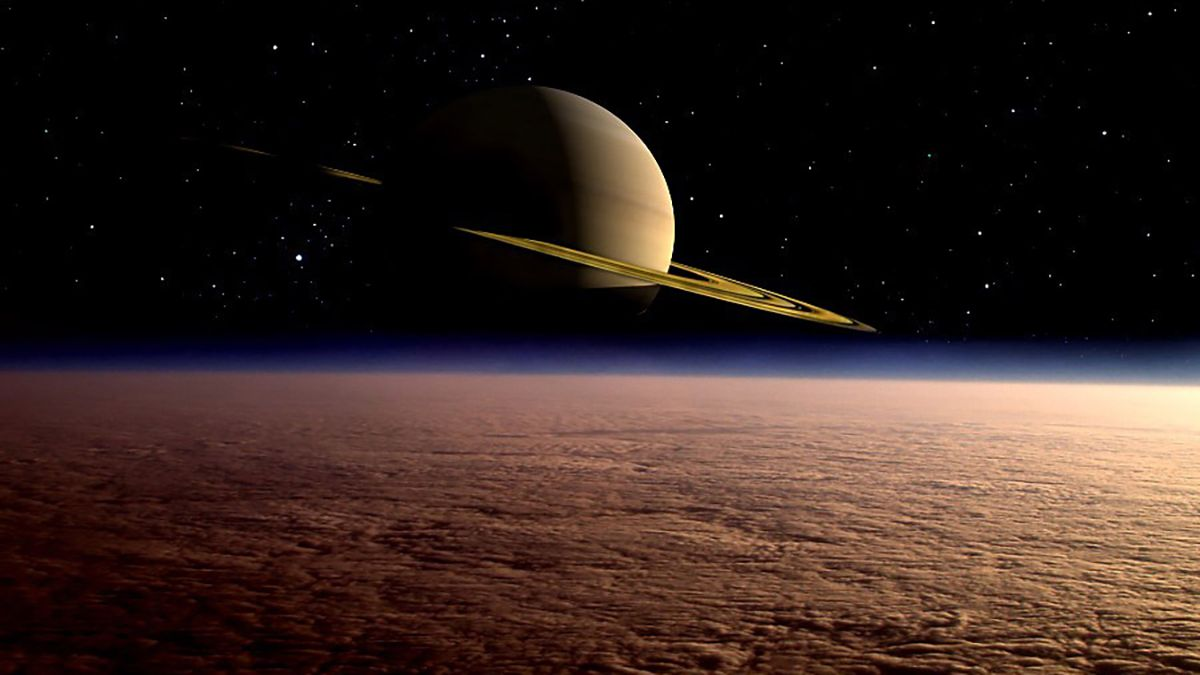 Representación artística de Titán