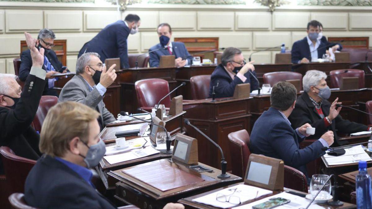 La declaración de acompañamiento a Perotti en las negociaciones por la intervención de Vicentin fue aprobada en la sesión de este jueves.