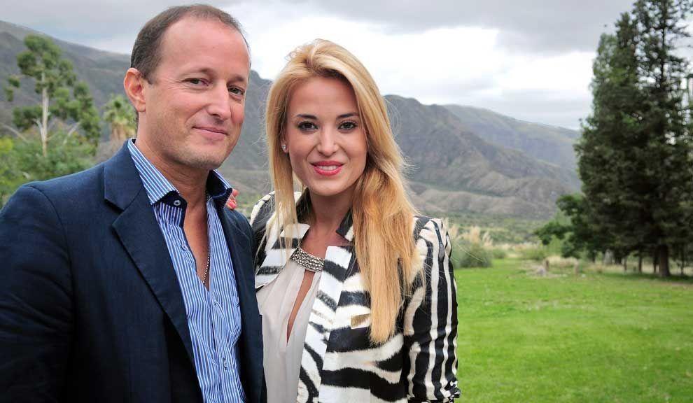 Jesica Cirio y Martín Insaurralde se casaron en noviembre de 2014.