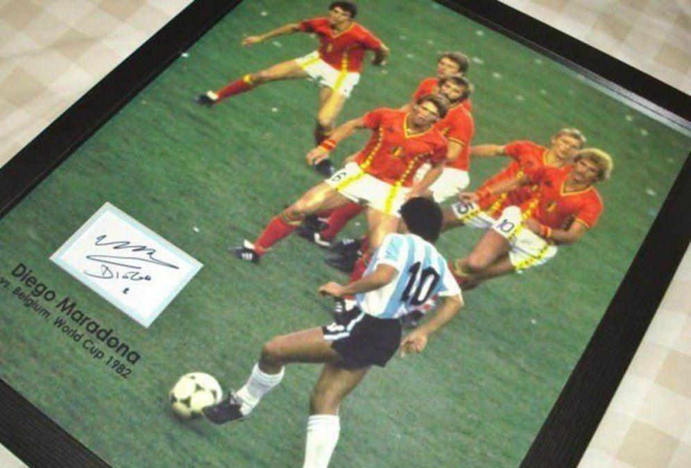 El secreto detrás de la histórica imagen de Diego Armando Maradona
