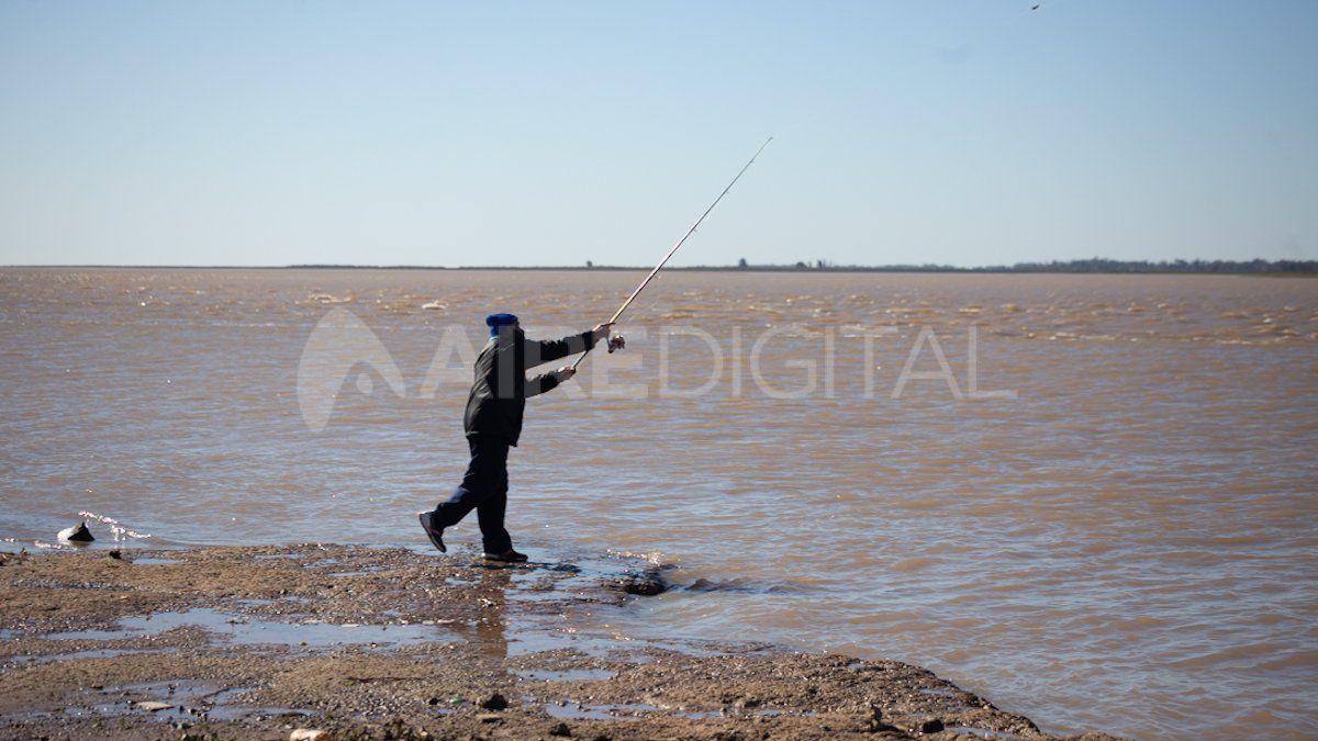 Los pescadores aprovecharon la jornada tras la habilitación de la actividad