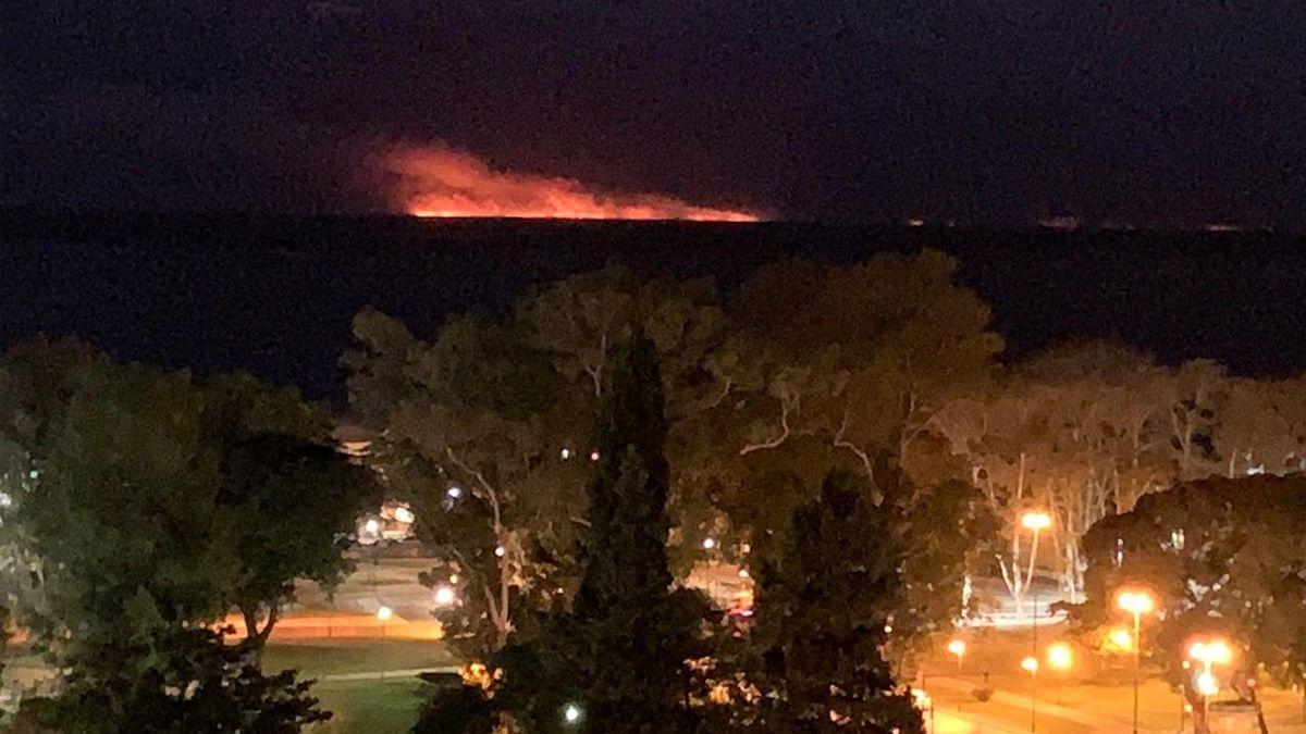 Rosario ahumada: Nación prometió recursos para luchar contra las quemas en las Islas y decretó la emergencia ambiental