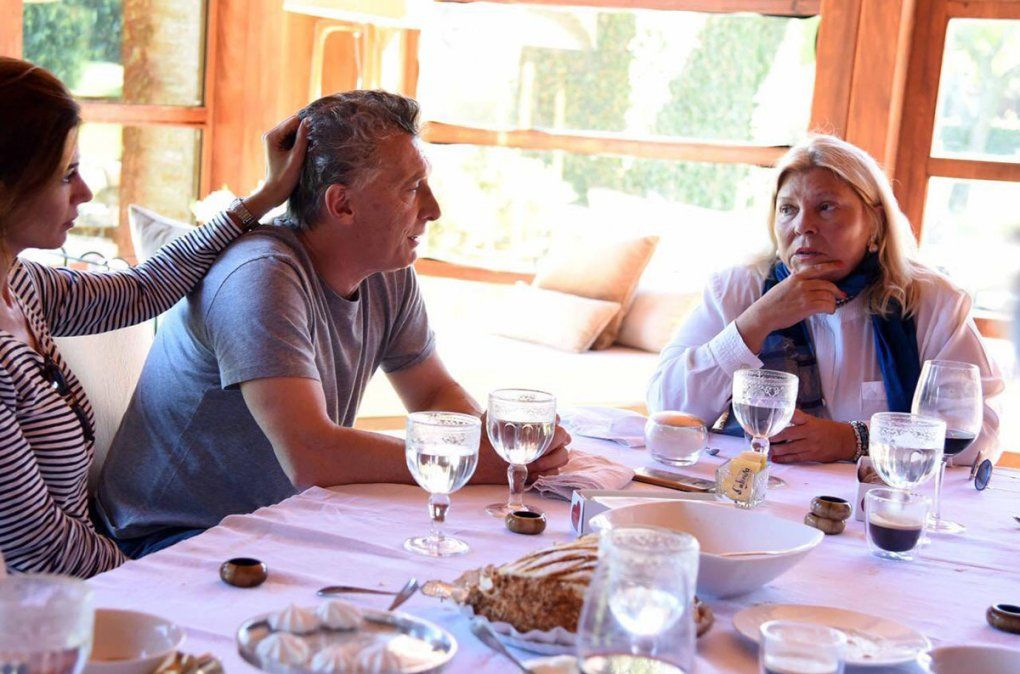 Macri reapareció junto a Carrio y ambos denunciaron atropellos institucionales.
