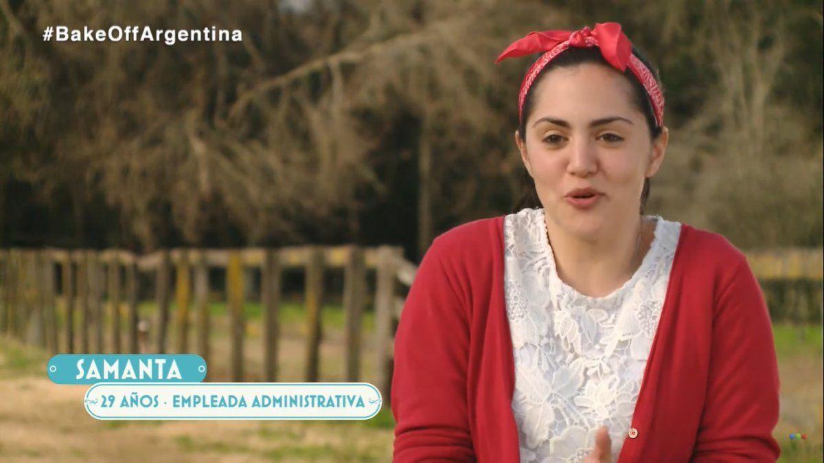 La propia Samanta fue quien publicó el video de la polémica.