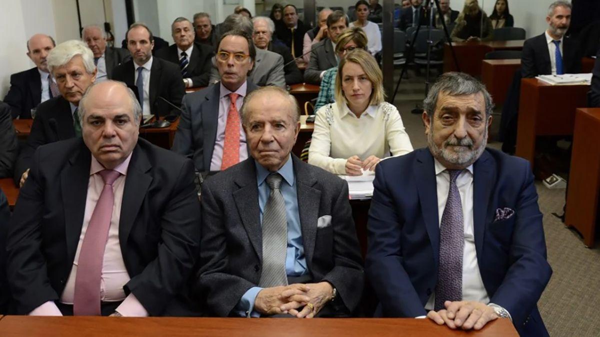 La Cámara Federal de Casación Penal decidió en el 2018 absolver a Menem.