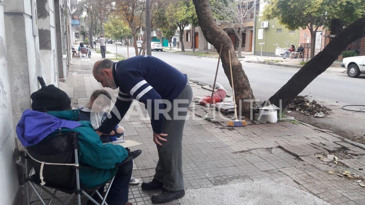 Los vecinos de barrio Roma ganaron las calles contra la inseguridad