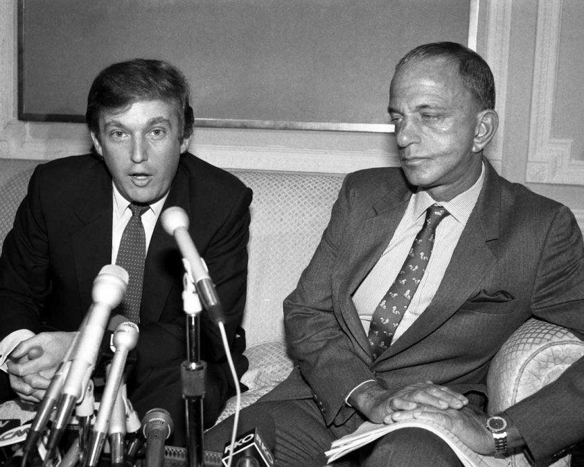 Roy Cohn y Donald Trump